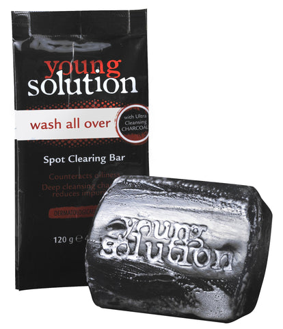 Young Solution Wash All Over Spot Clearing Bar - 120g 32-Pack
