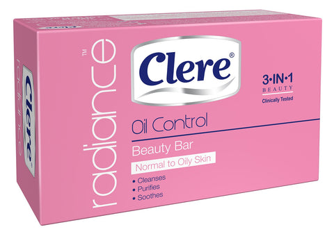 Clere Radiance - Oil Control Beauty Soap - 100g