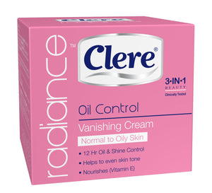 Clere Radiance - Vanishing Cream N/Oily - 50ml 48-Pack