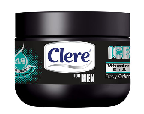 Clere For Men Body Crème - ICE - 250ml 24-Pack