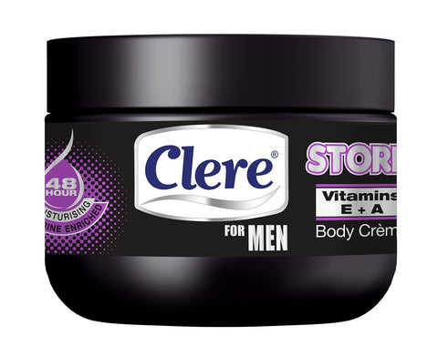 Clere For Men Body Crème - STORM - 250ml 24-Pack