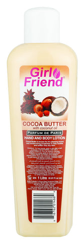 Cocoa Butter Lotion - 1l 12-Pack