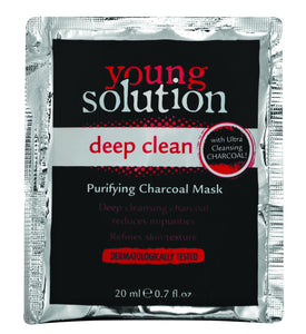 Young Solution Sachet Deep Clean Purifying Charcoal Mask - 20ml