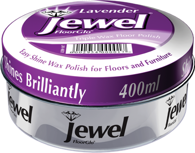 Jewel Floor Polish - Lavender- 400ml 24-Pack