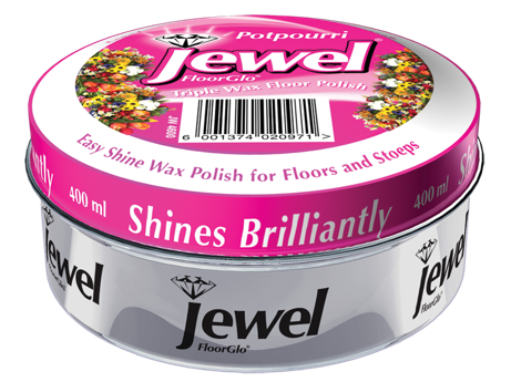 Jewel Floor Polish - Potpurri- 400ml 24-Pack
