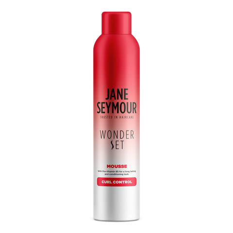 Jane Seymour Wonderset  Curl Control Mousse 240ml 24-Pack