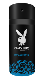 Playboy Atlantis- Deodorant - 150ml 36-Pack