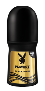 Playboy Black Gold - Roll On - 50ml