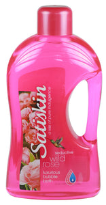 Satiskin Bubble Bath - Wild Rose - 2 litre 6-Pack
