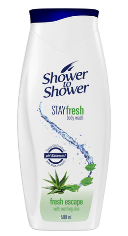 Shower to Shower Liquid Hand Soap - Fresh Escape - 475ml 24-Pack