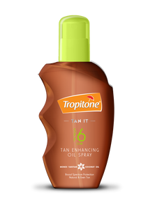Tropitone Tan It Tanning Oil SPF6  - 125ml