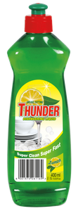 Thunder Dishwashing liquid lemon - 400ml 36-Pack