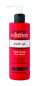 Young Solution Wash Up Triple Action Face Wash - 200ml 32-Pack
