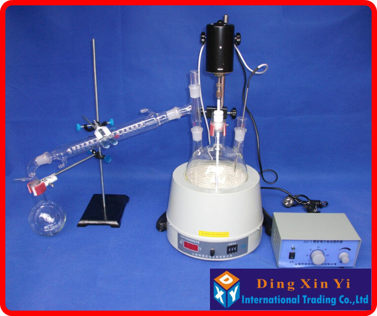 Glass Distillation Adapter, Distilling Head, Standard Ground Mouth, Standard mouth 24/29, Used for Distillation Unit