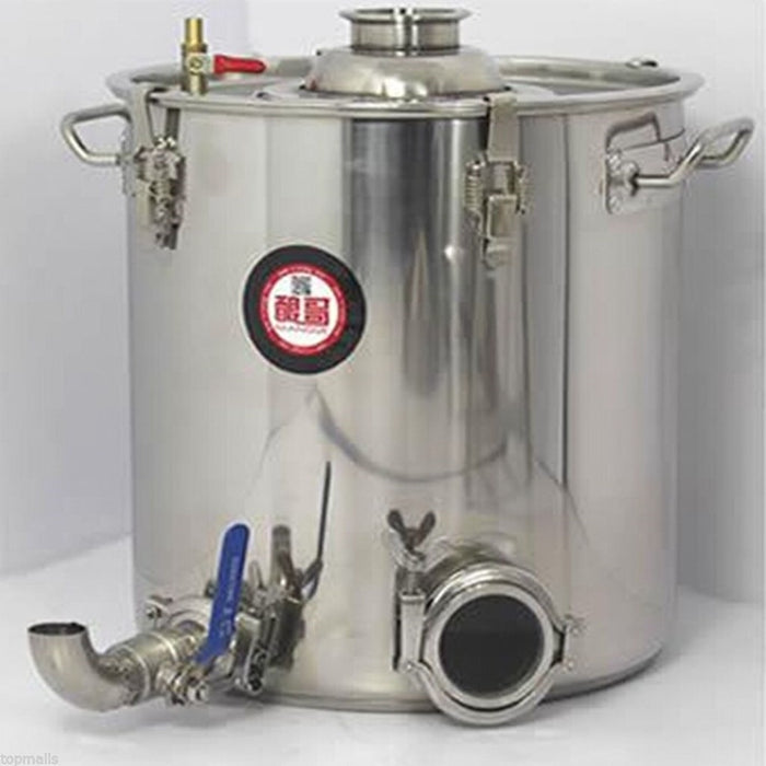 COMBO 5 Star Still 5/8/13/18 Gallon 20/30/50/70 Litres Combination Pot + Reflux Still