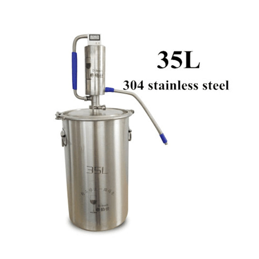 35L Mini Distilling Machine Moonshine Homebrew Distiller Brewing Alcohol Still Distiller