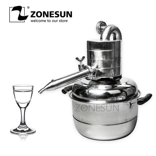 ZONESUN Multi Functional Essential Oil Distiller 2.6 Gallon (10 Litre)