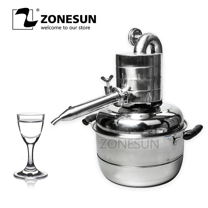 ZONESUN Multi Function Essential Oil Distiller
