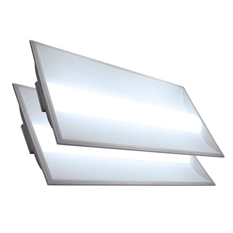 LED 2x4 35W Center Basket Troffer Panel (2 Pack)