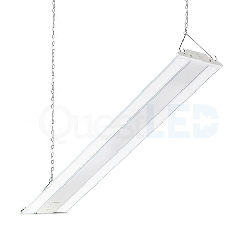 LED 4ft Linear Highbay Dimmable 5000K Frosted Lens)