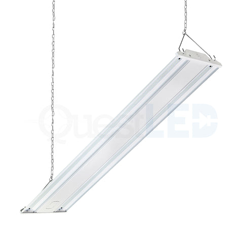 LED 4ft Linear Highbay Dimmable (5000K, Clear Lens)