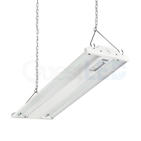 LED 2ft Linear Highbay Dimmable 5000K Clear Lens