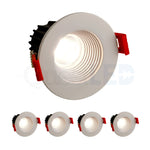"LED 2"" Inch 8W Canless Downlight With Junction Box Dimmable"