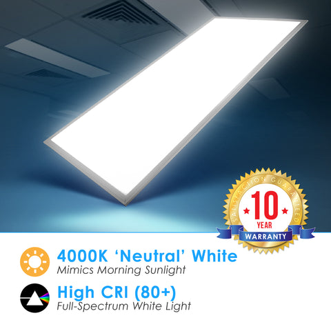 LED 2X4 72W Edge Lit Panel Dimmable