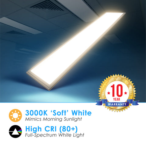 LED 1X4 40W Edge Lit Panel Dimmable
