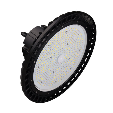 LED UFO Highbay 100W Dimmable 0-10v Bronze Finish 5000K