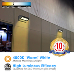 LED Rotating Wall Pack 40W Non Dimmable