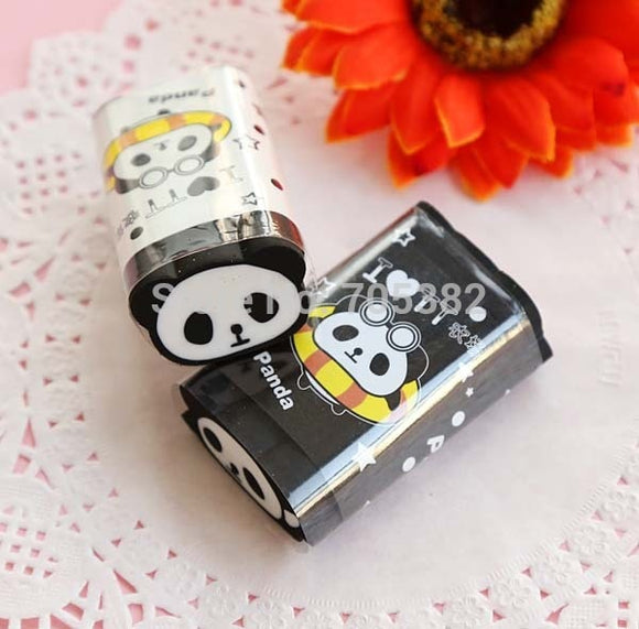 1PC Kawaii Panda Design Eraser-my kawaii office