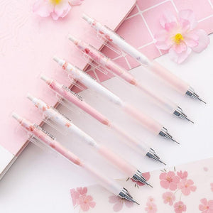 1PC Lovely Cherry Blossoms Mechanical Pencil-my kawaii office