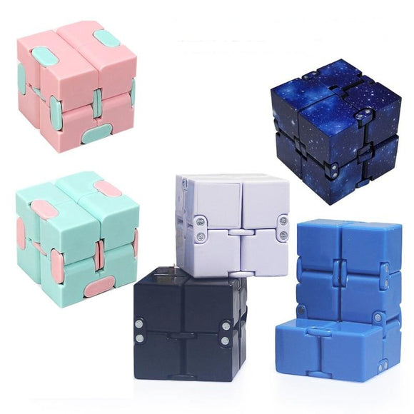 1PC Infinity Cube Stress Reliever Fidget Toys-my kawaii office