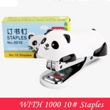 1PC Mini Panda Stapler Set-my kawaii office