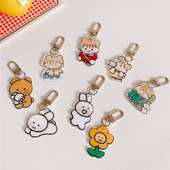 1PC Kawaii Keychain-my kawaii office