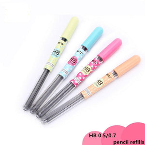 1PC Polka Print Mechanical Pencil Lead Refills-my kawaii office