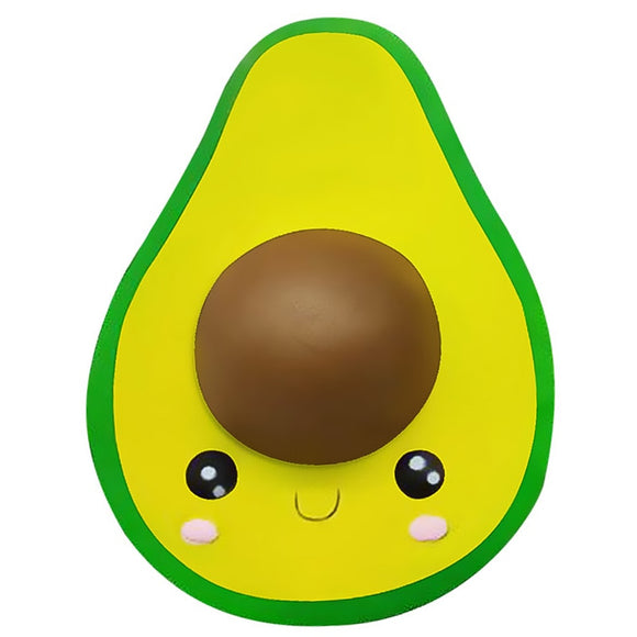 1PC Jumbo Avocado Squishy Slow Rising Stress Reliever-my kawaii office