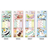 1PC Kawaii Little Animals Sticky Notes-my kawaii office