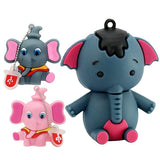 1PC Kawaii Elephant Collection USB Memory Stick-my kawaii office