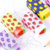 1PC Refreshing Fresh Fruit Rubber Eraser-my kawaii office