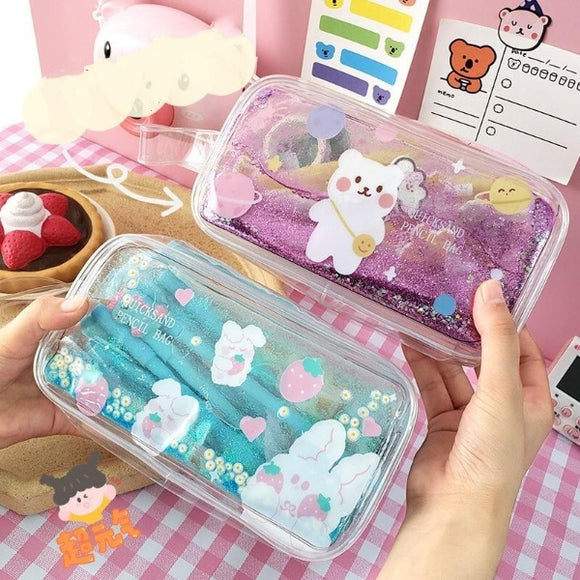 1PC Kawaii Spring Time Pencil Case