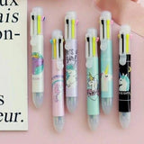 1PC Unicorn 8 Colors Ballpoint Pen-my kawaii office