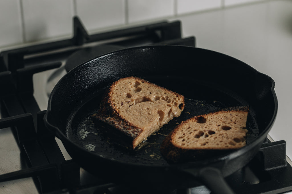 French Toast Cooking