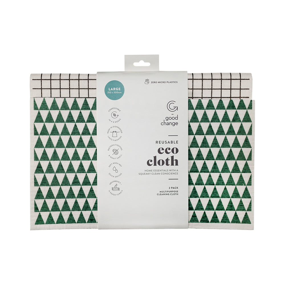 Eco Cloth Large (2 pack)
