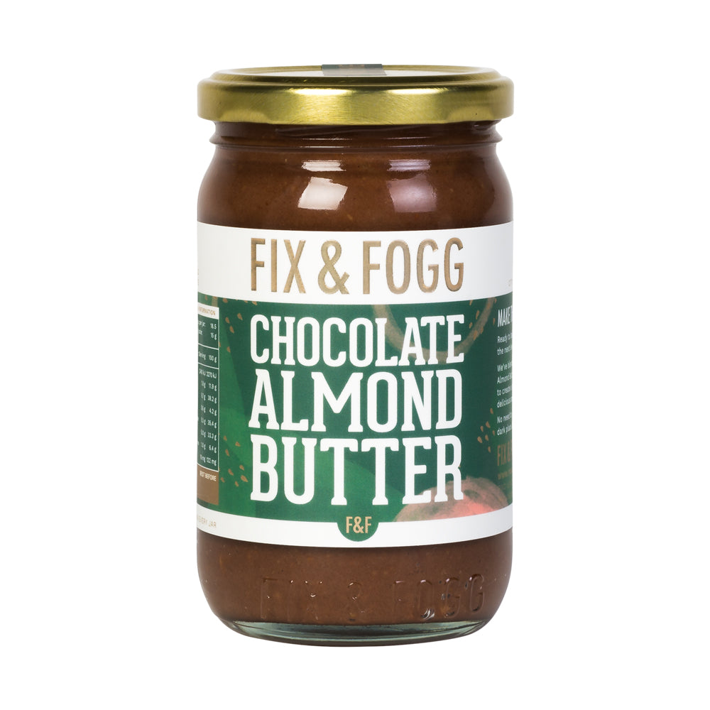 Dark Choc Almond Butter - Fix + Fogg