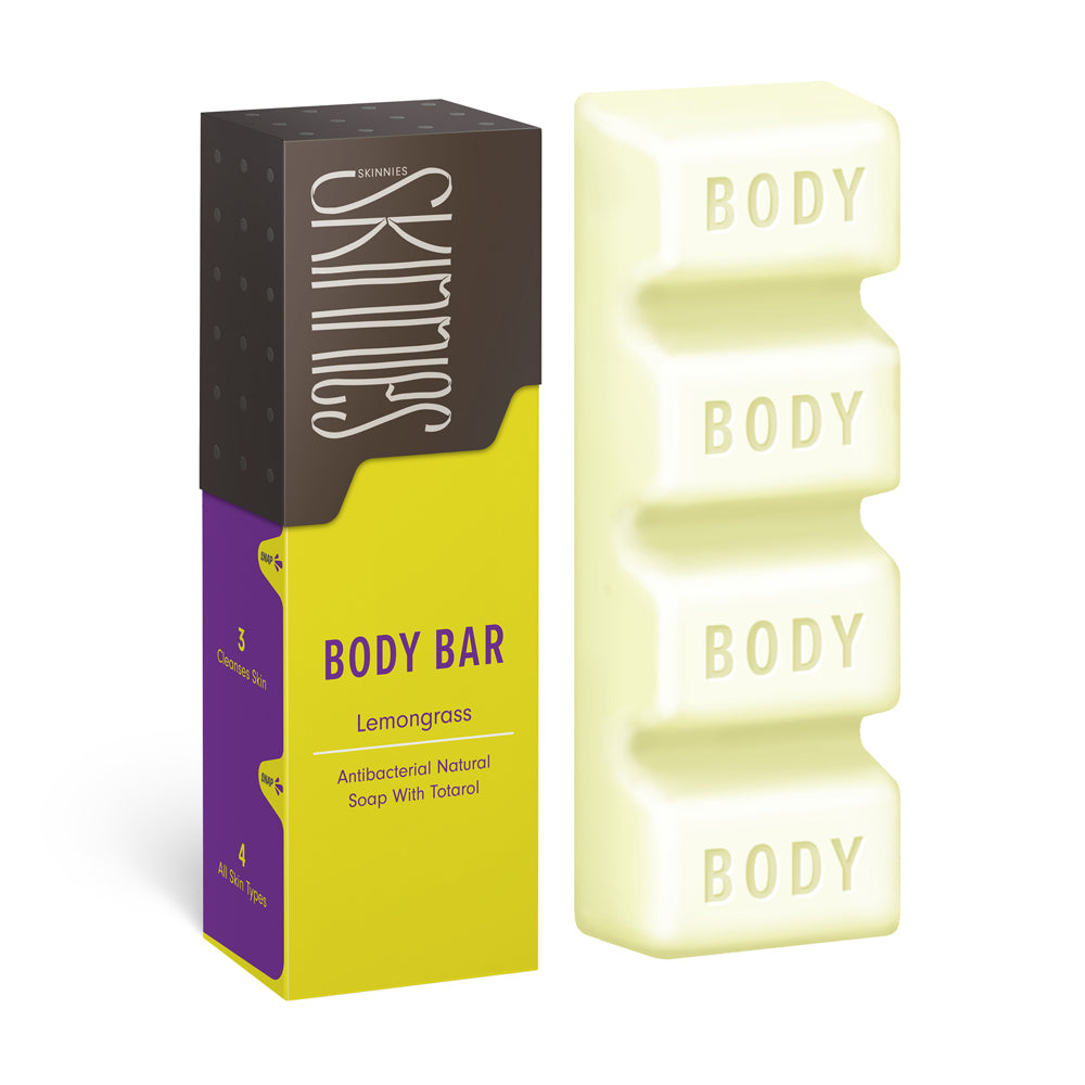 Skinnies Body Bar - Lemongrass