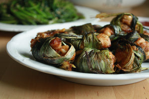 Chicken Wrapped in Pandan Leaves Recipe