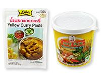 Thai Yellow Curry Pastes