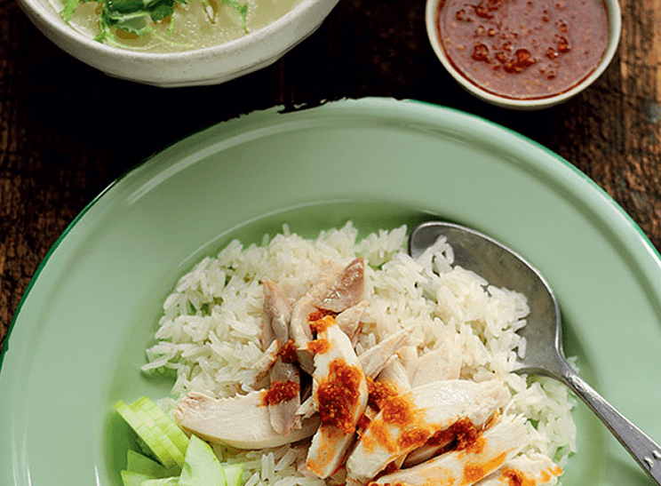 Rick Stein's Hainanese Chicken Rice Recipe